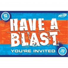 Nerf Postcard Invitations