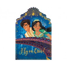 Aladdin Postcard Fly on Over! Invitations Pack of 8