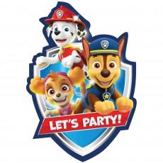 Paw Patrol Party Supplies - Invitations Adventures Postcard