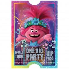 Trolls World Tour Postcard Favours Pack of 8