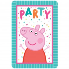 Peppa Pig Confetti Party Postcard Favours