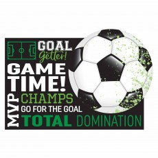 Soccer Party Supplies - Invitations Goal Getter