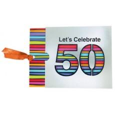 50th Birthday Jumbo Novelty Invitations
