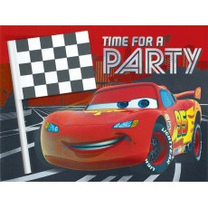 Disney Cars 3 Deluxe Jumbo Invitations
