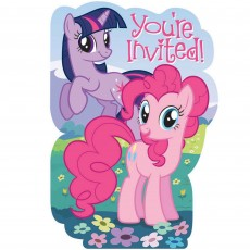 My Little Pony Friendship Postcard Invitations