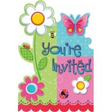 Garden Girl Invitations
