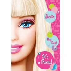 Barbie All Doll'd Up Postcard Invitations