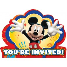 Mickey Mouse & Friends Postcard Invitations