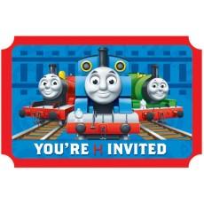 Thomas & Friends Postcard Invitations