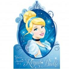 Cinderella Postcard Invitations