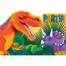 Dinosaur Prehistoric s Postcard Invitations