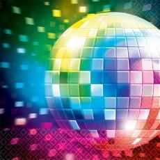 Disco & 70's Disco Fever Beverage Napkins