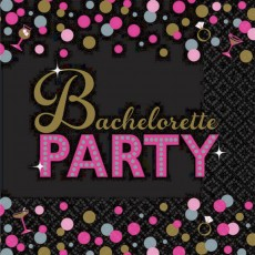 Bachelorette Lunch Napkins
