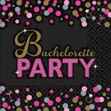 Bachelorette Party Lunch Napkins 33cm x 33cm Pack of 16