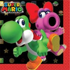 Super Mario Beverage Napkins