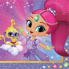 Shimmer & Shine Beverage Napkins