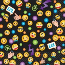Emoji LOL Beverage Napkins