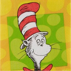 Dr Seuss Beverage Napkins
