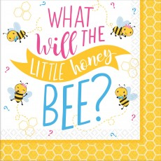 What Will It Bee? Beverage Napkins