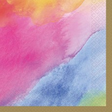 Rainbow Dream Colours Beverage Napkins Pack of 16