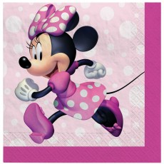 Minnie Mouse Party Supplies - Beverage Napkins Forever