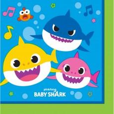 Baby Shark Beverage Napkins