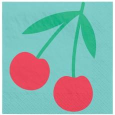 Hawaiian Luau Tutti Frutti Summer Beverage Napkins
