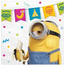 Minions 2 Beverage Napkins Pack of 16