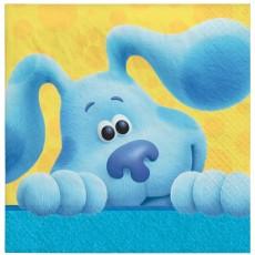 Blue's Clues Party Supplies - Beverage Napkins
