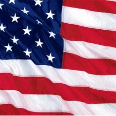 USA Flying Colors Beverage Napkins