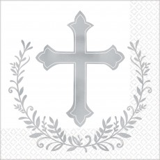 First Communion Party Supplies - Beverage Napkins Holy Day