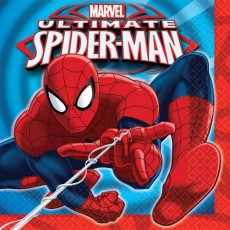 Spider-Man Lunch Napkins