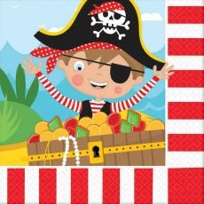 Pirate's Treasure Little Pirate Lunch Napkins