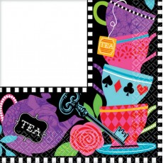 Mad Tea Lunch Napkins