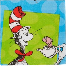 Dr Seuss Lunch Napkins