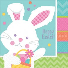Easter Hippity Hop Lunch Napkins