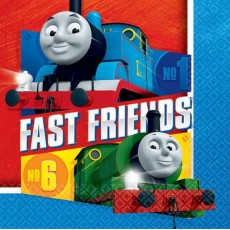 Thomas & Friends All Aboard Lunch Napkins 33cm x 33cm Pack of 16