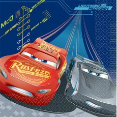 Disney Cars 3 Lunch Napkins