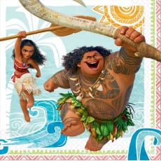 Moana Party Supplies - Lunch Napkins
