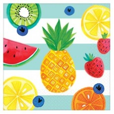 Hawaiian Luau Hello Summer Lunch Napkins