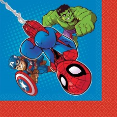 Avengers Marvel Super Hero Adventure Lunch Napkins