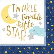 Twinkle Little Star Lunch Napkins