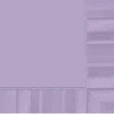Lavender Party Supplies - Lunch Napkins Lavender