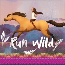 Spirit Riding Free Party Supplies - Lunch Napkins