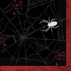 Halloween Party Supplies - Lunch Napkins - Dark Manor