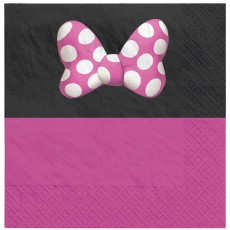 Minnie Mouse Party Supplies - Lunch Napkins Forever