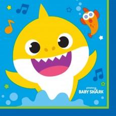 Baby Shark Lunch Napkins