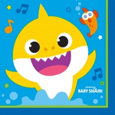 Baby Shark Party Supplies - Lunch Napkins