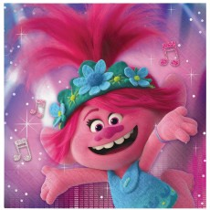 Trolls World Tour Lunch Napkins Pack of 16