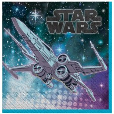 Star Wars Party Supplies - Lunch Napkins Galaxy